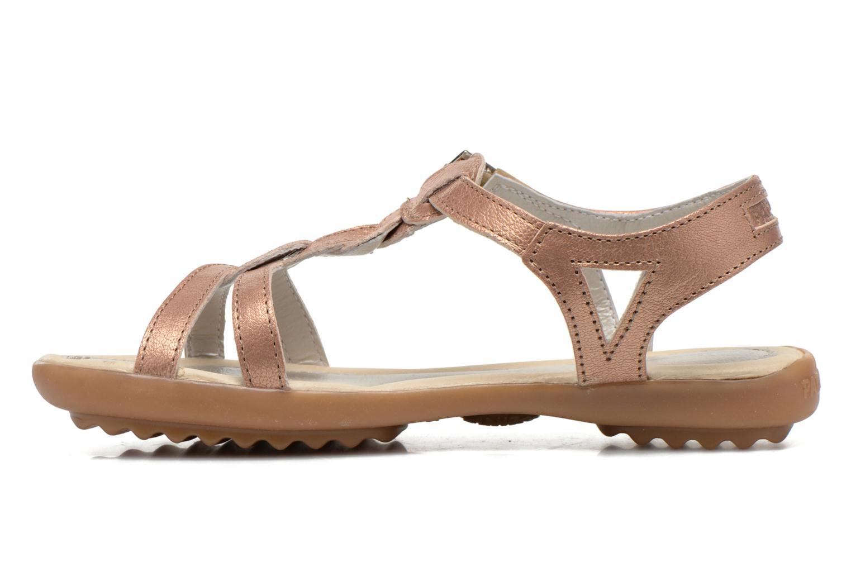 Sandales et nu-pieds Pataugas Claire J Rose vue face