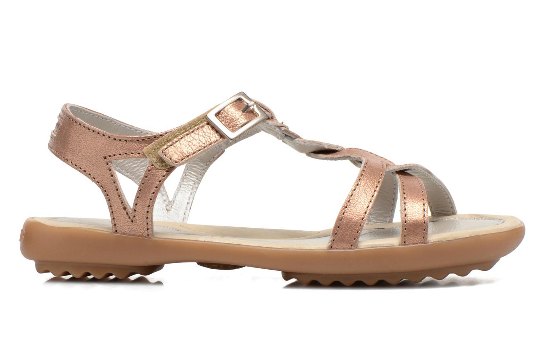 Sandales et nu-pieds Pataugas Claire J Rose vue derrière