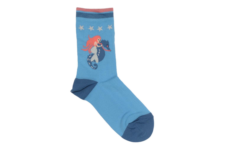 Chaussettes et collants Falke Socquettes Enfant Coton Mermaid SO Bleu vue détail/paire