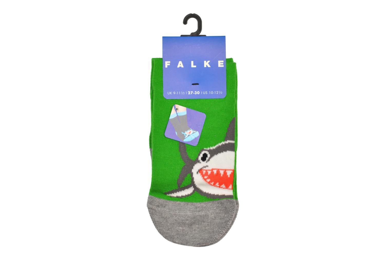 Socken & Strumpfhosen Falke Socquettes Enfant Coton Shark SO grau schuhe getragen