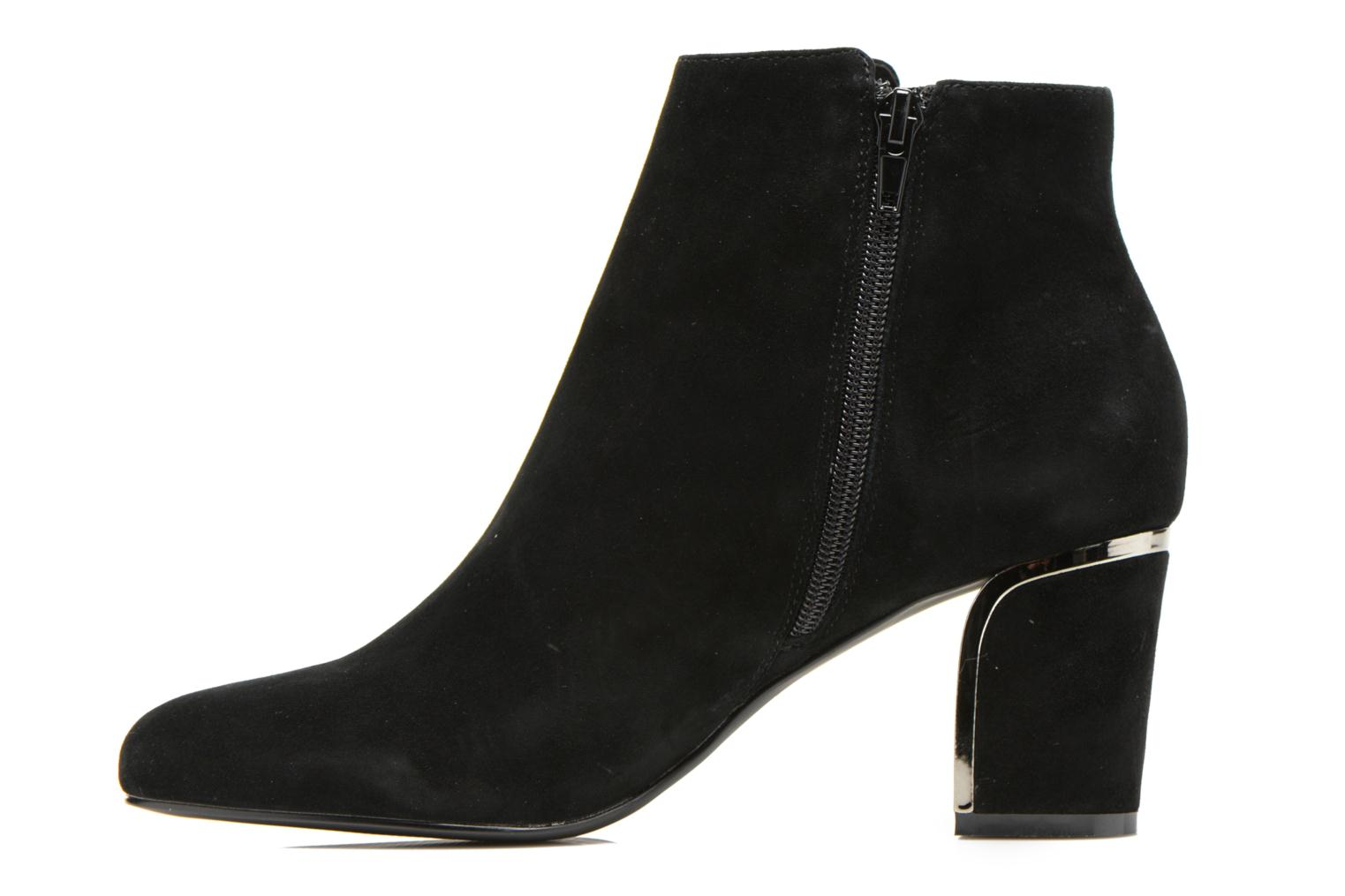 Ankle boots Minelli F80 721/VEL Black front view