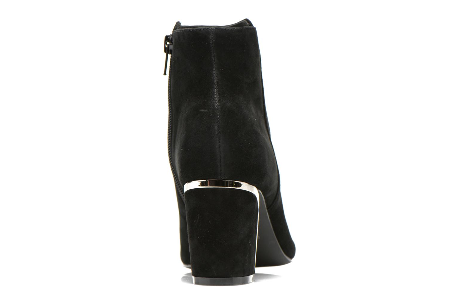 Ankle boots Minelli F80 721/VEL Black view from the right
