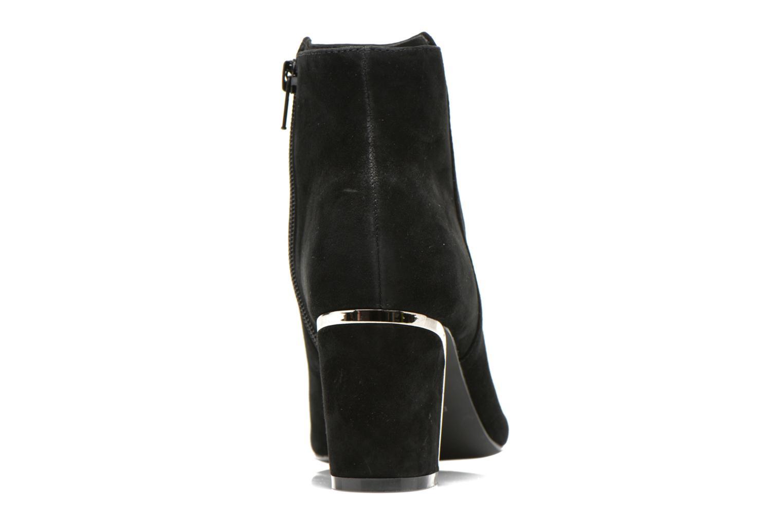 Bottines et boots Minelli F80 721/VEL Noir vue droite