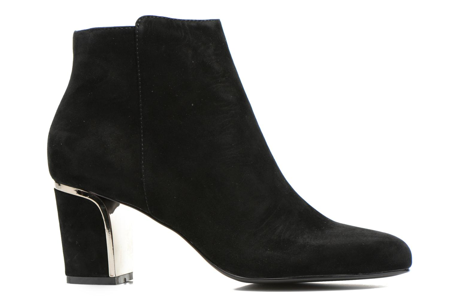 Ankle boots Minelli F80 721/VEL Black back view