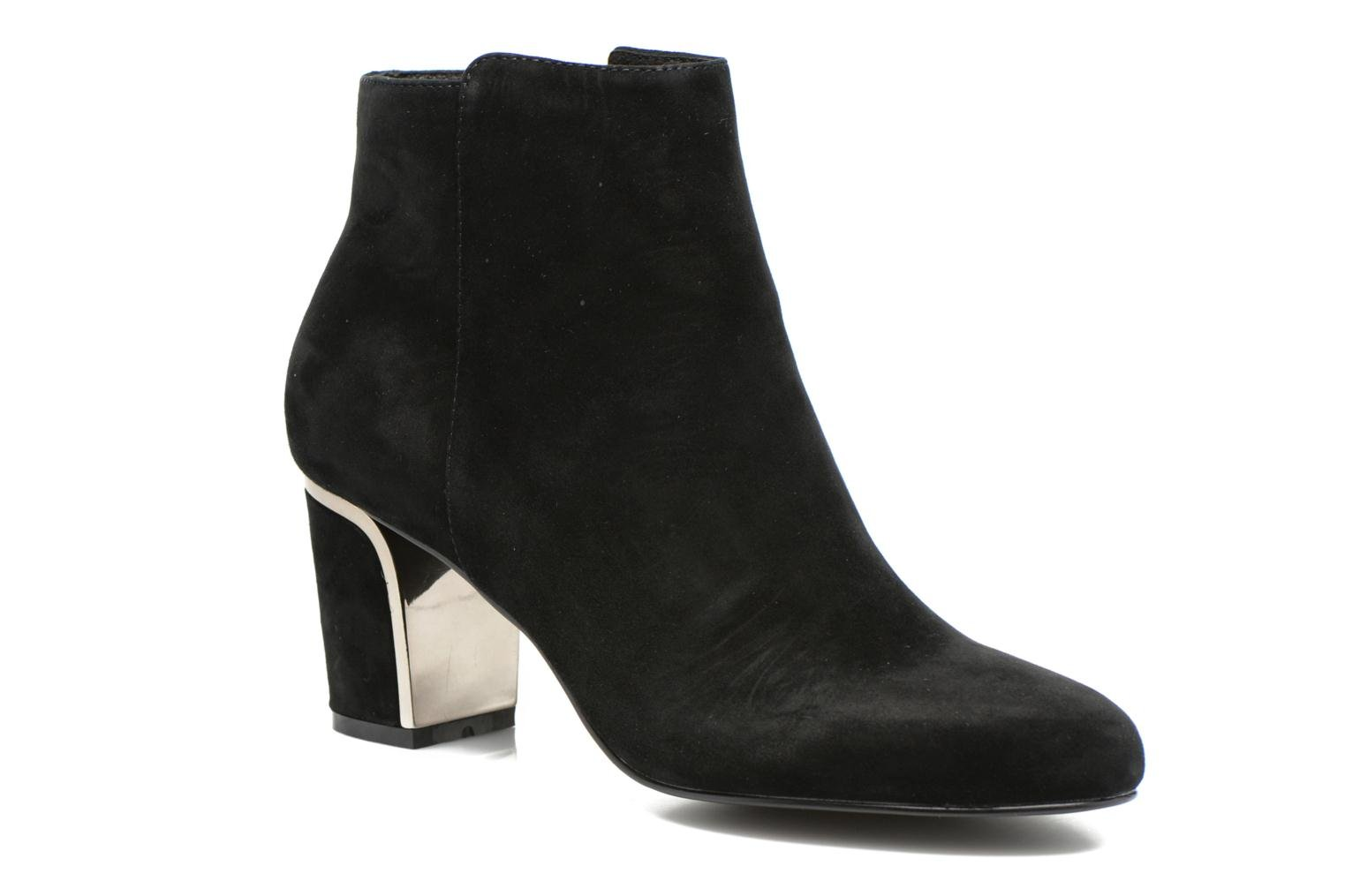 Ankle boots Minelli F80 721/VEL Black detailed view/ Pair view