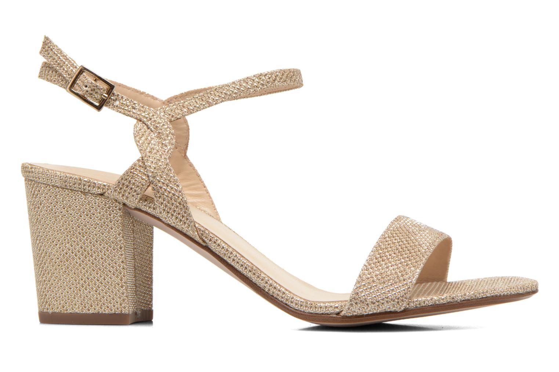 Sandales et nu-pieds Minelli F93 817/GLI Or et bronze vue derrière