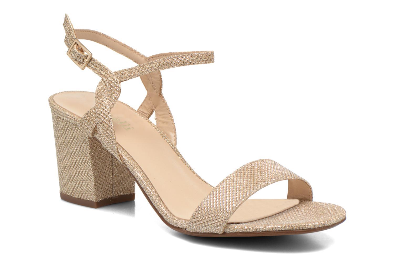 Sandales et nu-pieds Minelli F93 817/GLI Or et bronze vue détail/paire