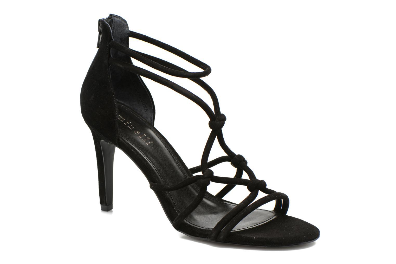 Sandales et nu-pieds Minelli F93 847/VEL Noir vue détail/paire