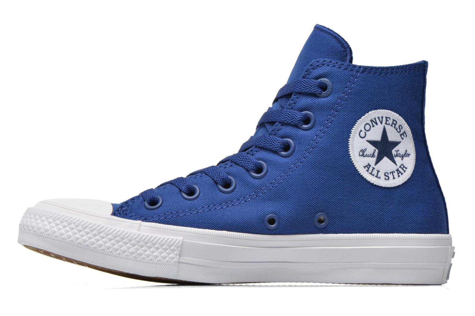 Sneakers Converse Chuck Taylor All Star II Hi W Blå se forfra
