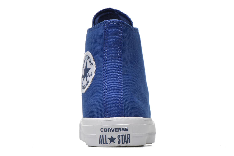 Sneaker Converse Chuck Taylor All Star II Hi W blau ansicht von rechts