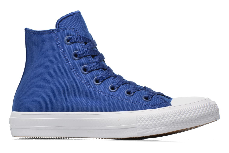 Sneaker Converse Chuck Taylor All Star II Hi W blau ansicht von hinten