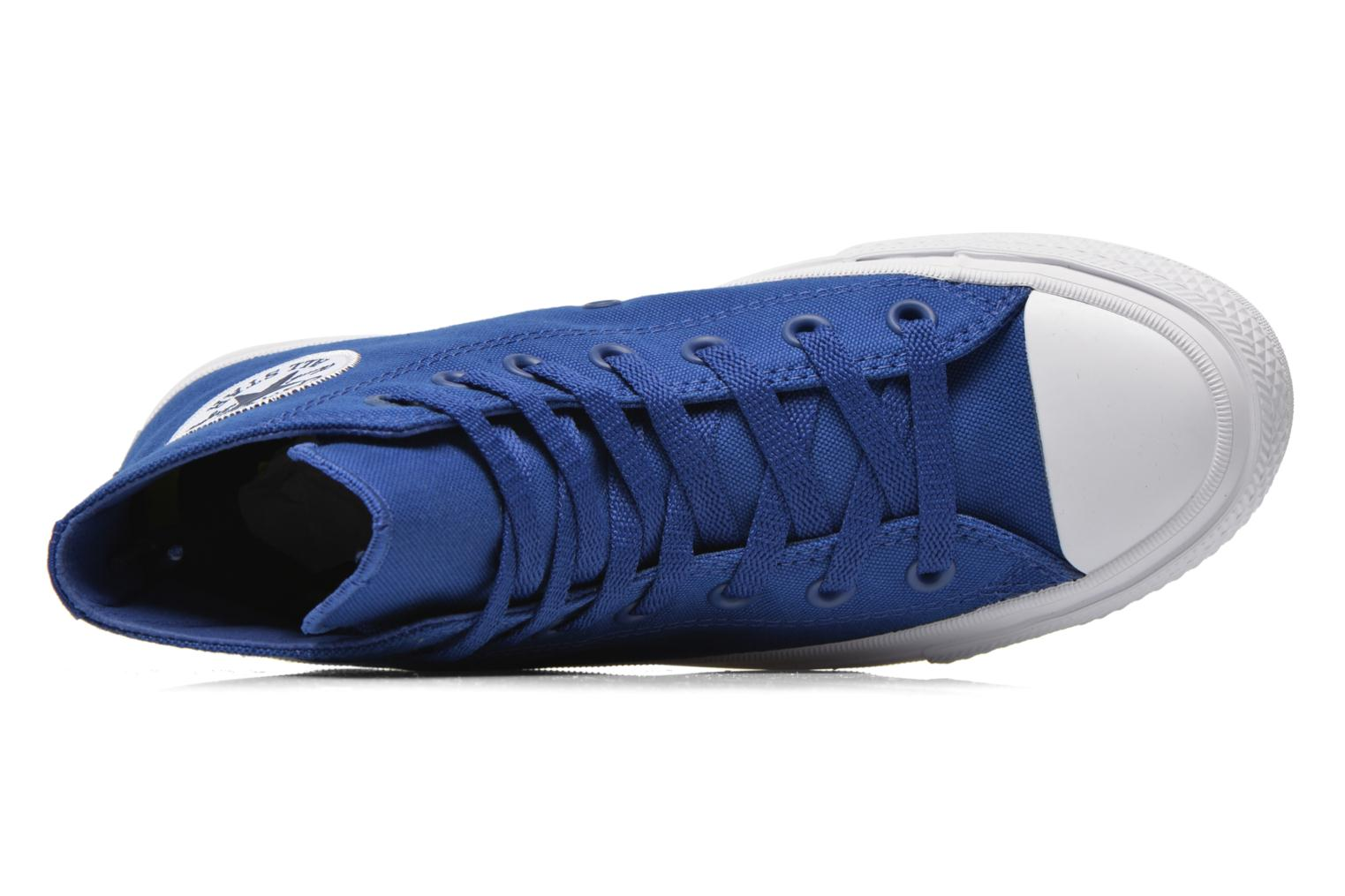 Trainers Converse Chuck Taylor All Star II Hi W Blue view from the left