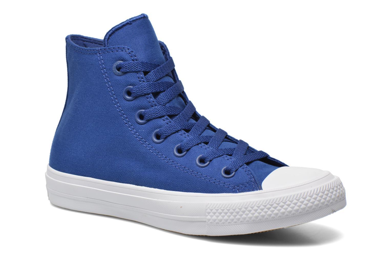 Sneakers Converse Chuck Taylor All Star II Hi W Blå detaljerad bild på paret