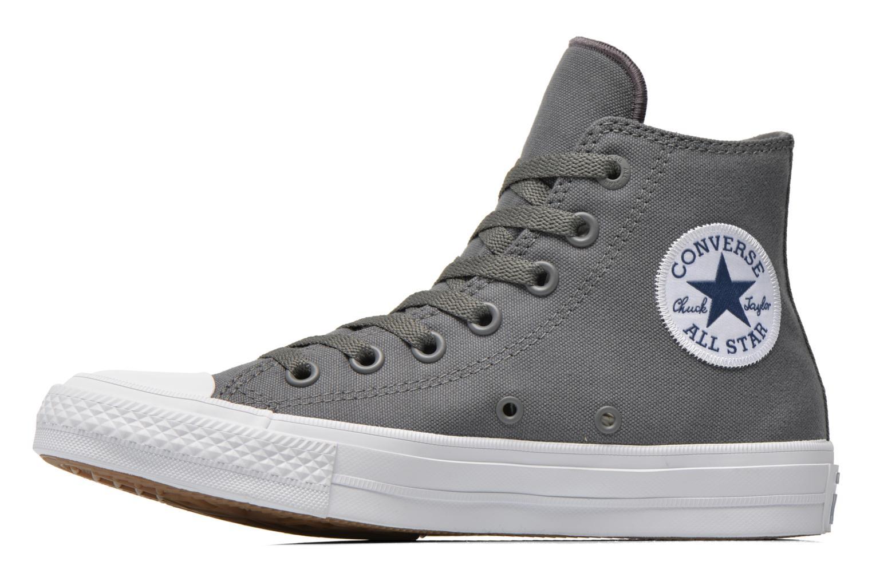 Sneakers Converse Chuck Taylor All Star II Hi W Grå bild från framsidan