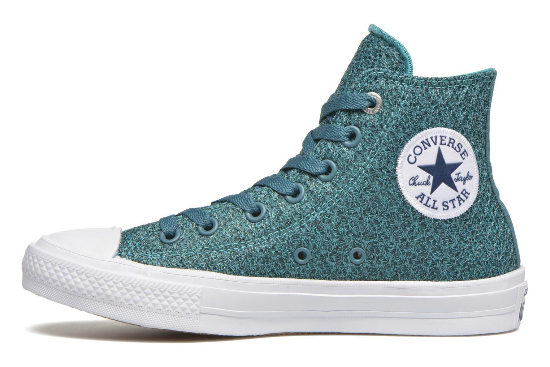 Sneakers Converse Chuck Taylor All Star II Hi W Blå bild från framsidan