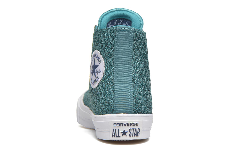Sneakers Converse Chuck Taylor All Star II Hi W Blå Bild från höger sidan