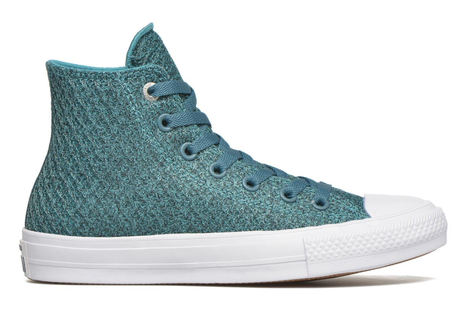 Sneakers Converse Chuck Taylor All Star II Hi W Blå se bagfra