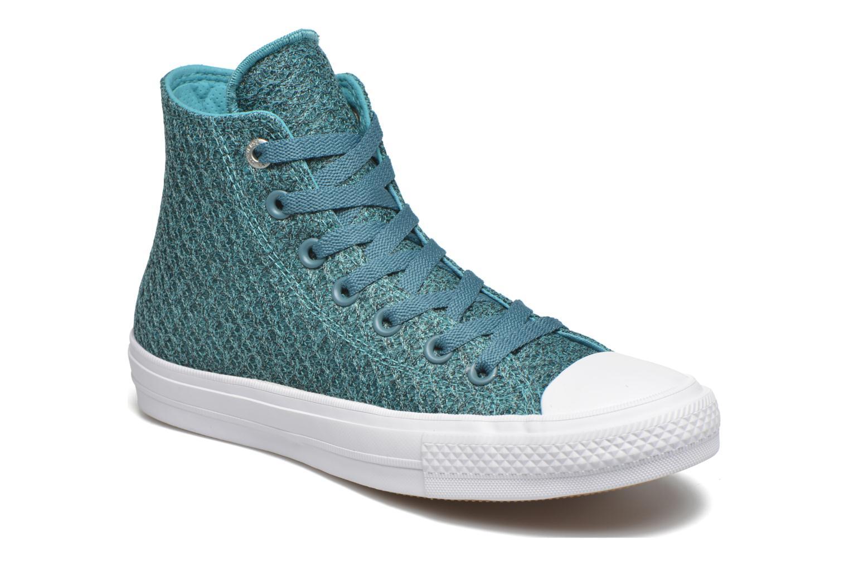 Sneakers Converse Chuck Taylor All Star II Hi W Blauw detail