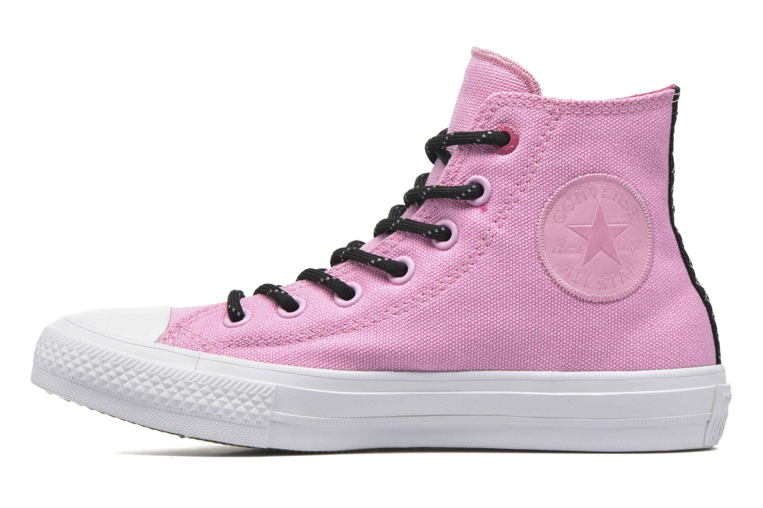 Baskets Converse Chuck Taylor All Star II Hi W Rose vue face