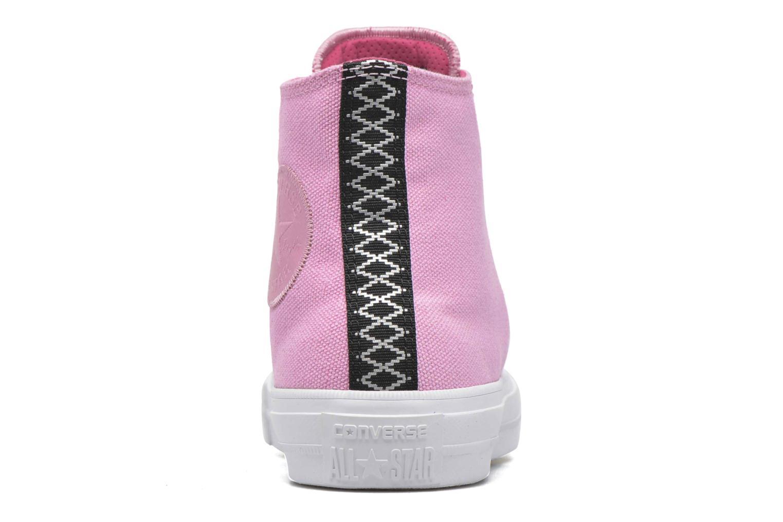 Sneakers Converse Chuck Taylor All Star II Hi W Roze rechts