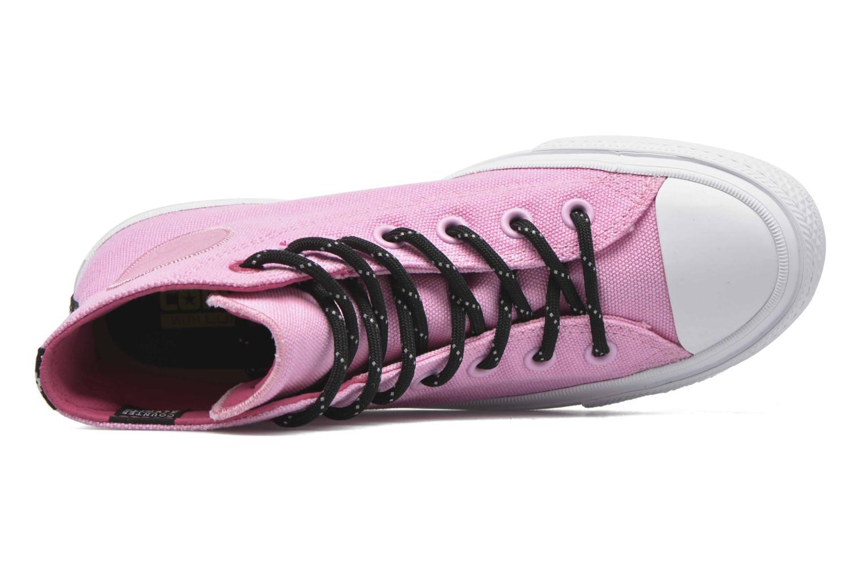 Sneakers Converse Chuck Taylor All Star II Hi W Pink se fra venstre