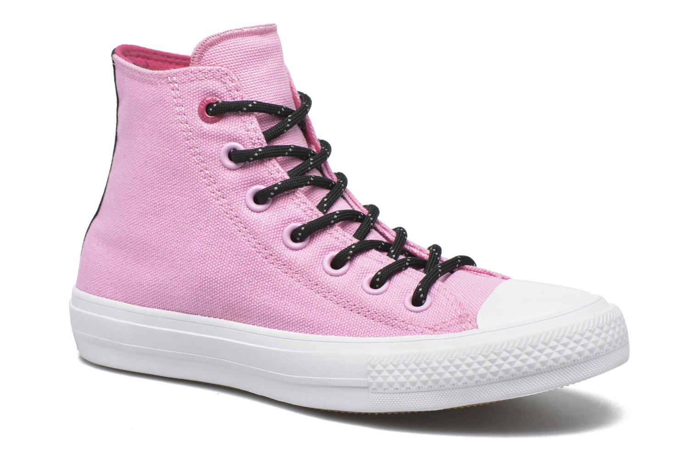 Sneakers Converse Chuck Taylor All Star II Hi W Pink detaljeret billede af skoene