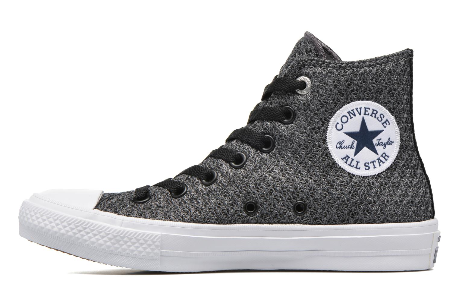 Baskets Converse Chuck Taylor All Star II Hi W Gris vue face