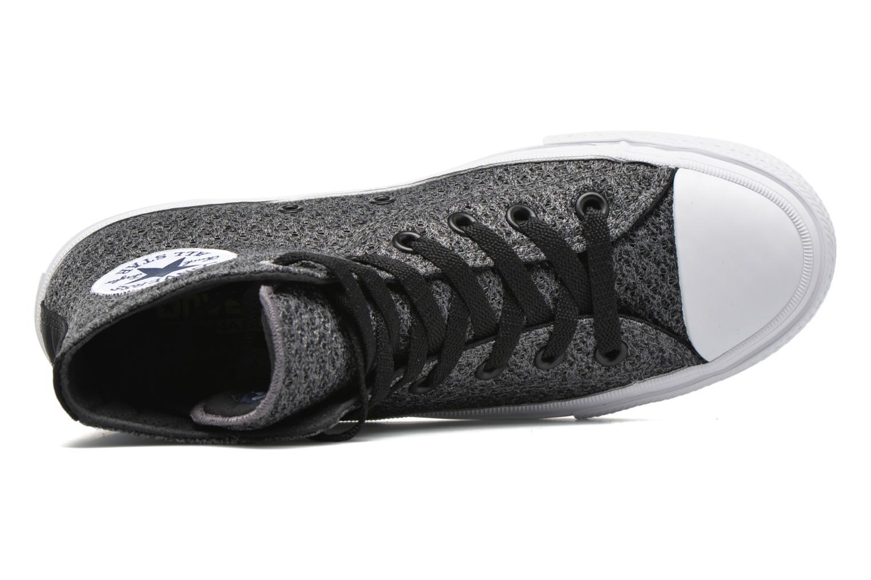 Sneaker Converse Chuck Taylor All Star II Hi W grau ansicht von links