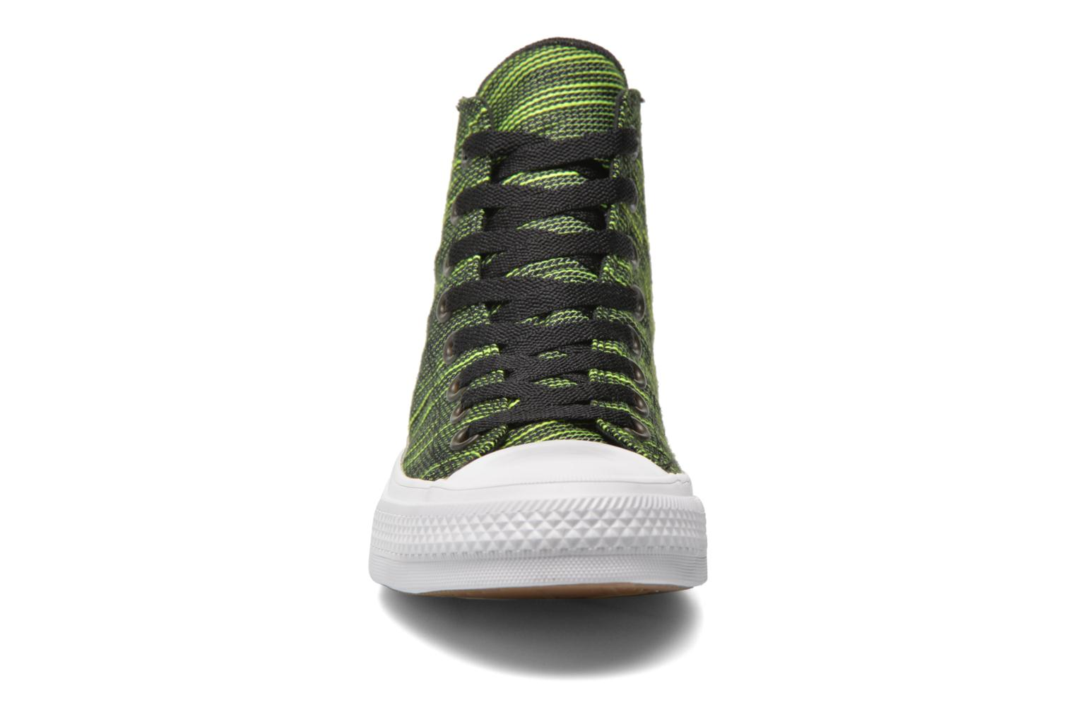 Chuck Taylor All Star II Hi M Black-Volt Green-White