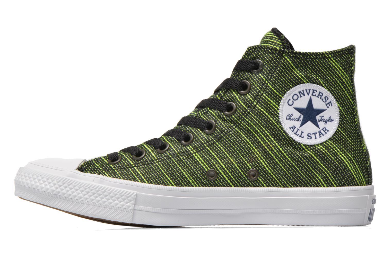 Sneakers Converse Chuck Taylor All Star II Hi M Grøn se forfra