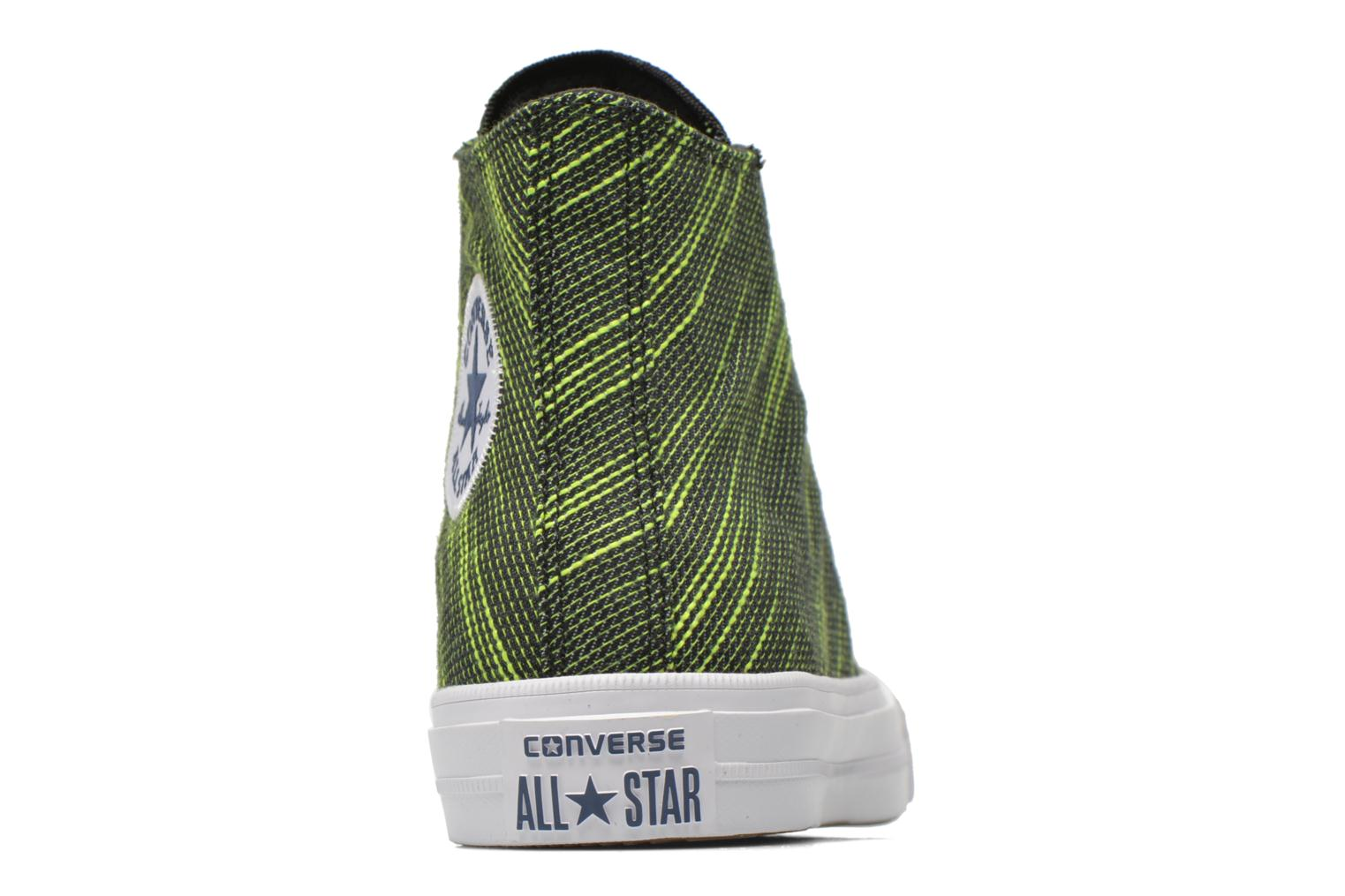 Trainers Converse Chuck Taylor All Star II Hi M Green view from the right
