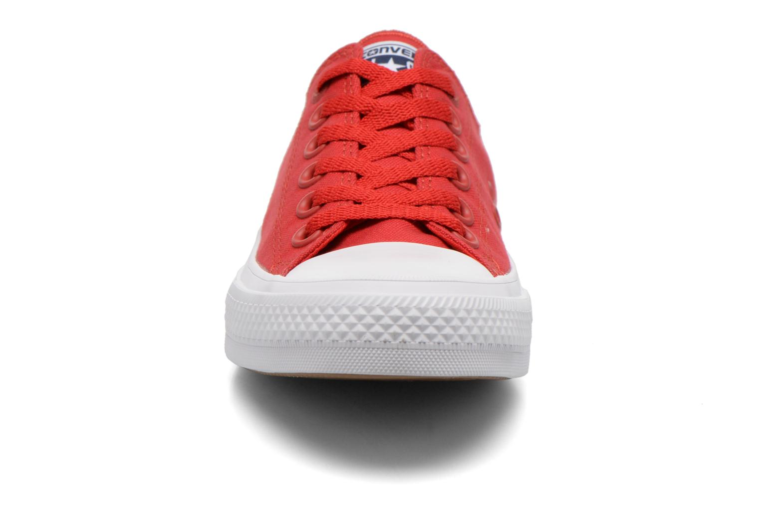 Trainers Converse Chuck Taylor All Star II Ox W Red model view