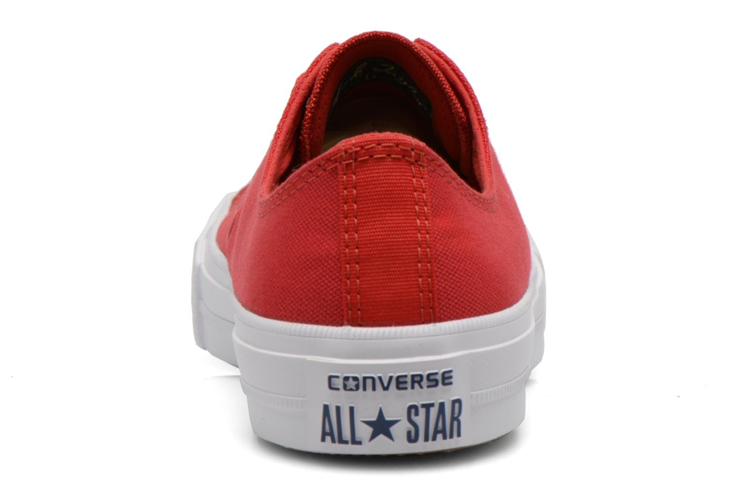 Baskets Converse Chuck Taylor All Star II Ox W Rouge vue droite