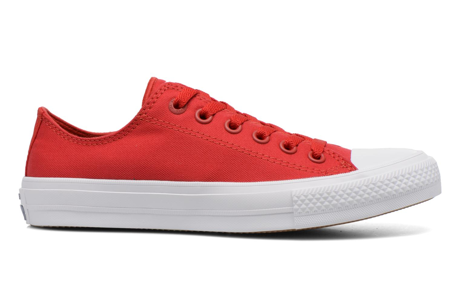 Sneakers Converse Chuck Taylor All Star II Ox W Rood achterkant