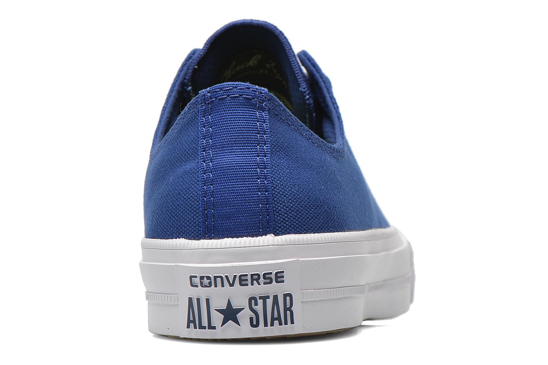 Baskets Converse Chuck Taylor All Star II Ox W Bleu vue droite