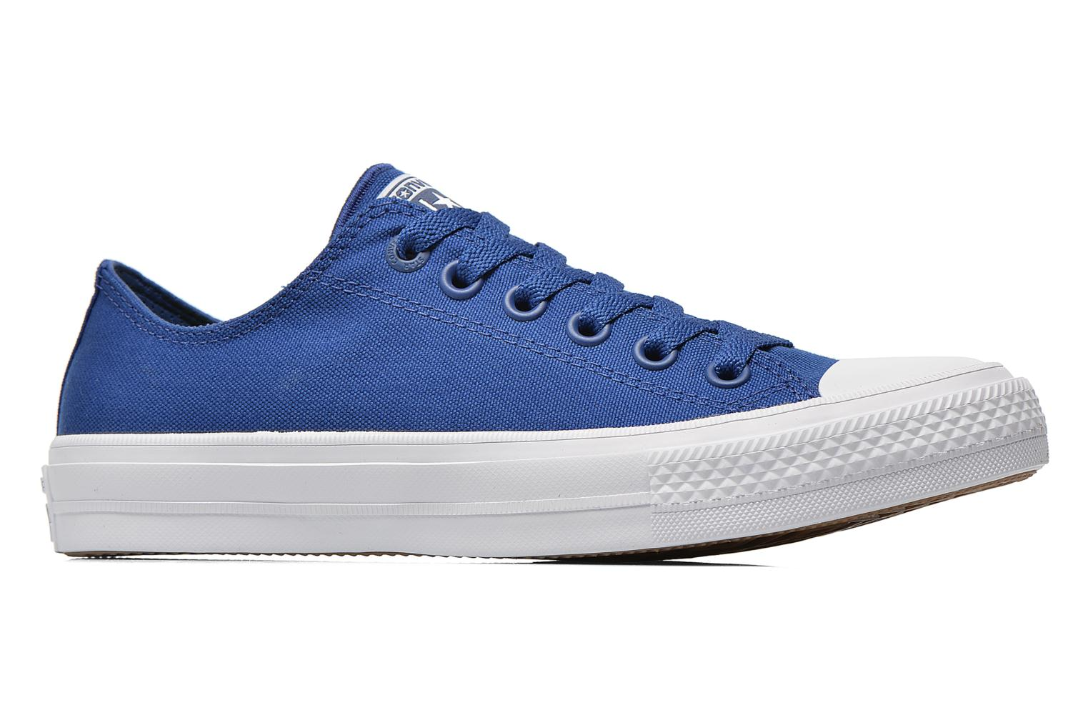 Sneakers Converse Chuck Taylor All Star II Ox W Blauw achterkant