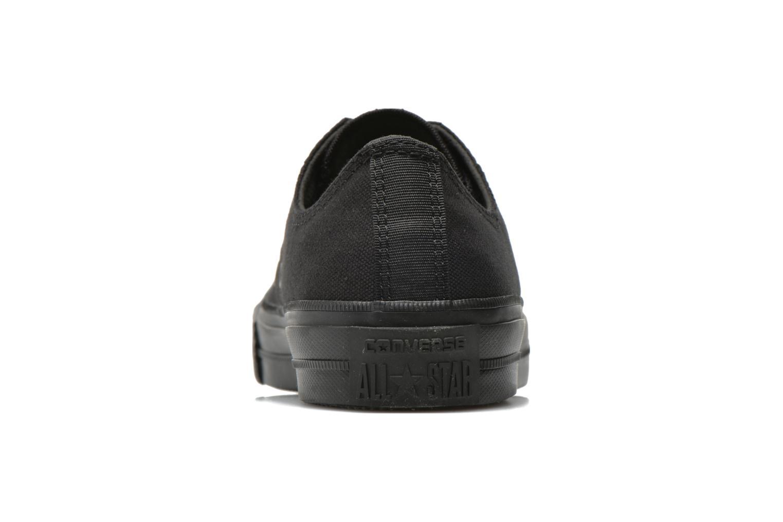 Sneakers Converse Chuck Taylor All Star II Ox W Zwart rechts