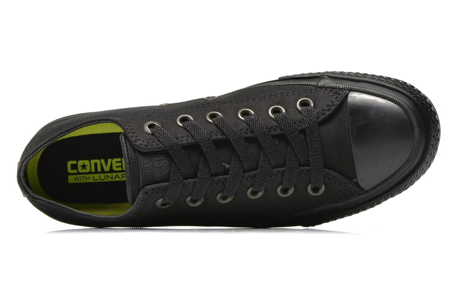 Trainers Converse Chuck Taylor All Star II Ox W Black view from the left