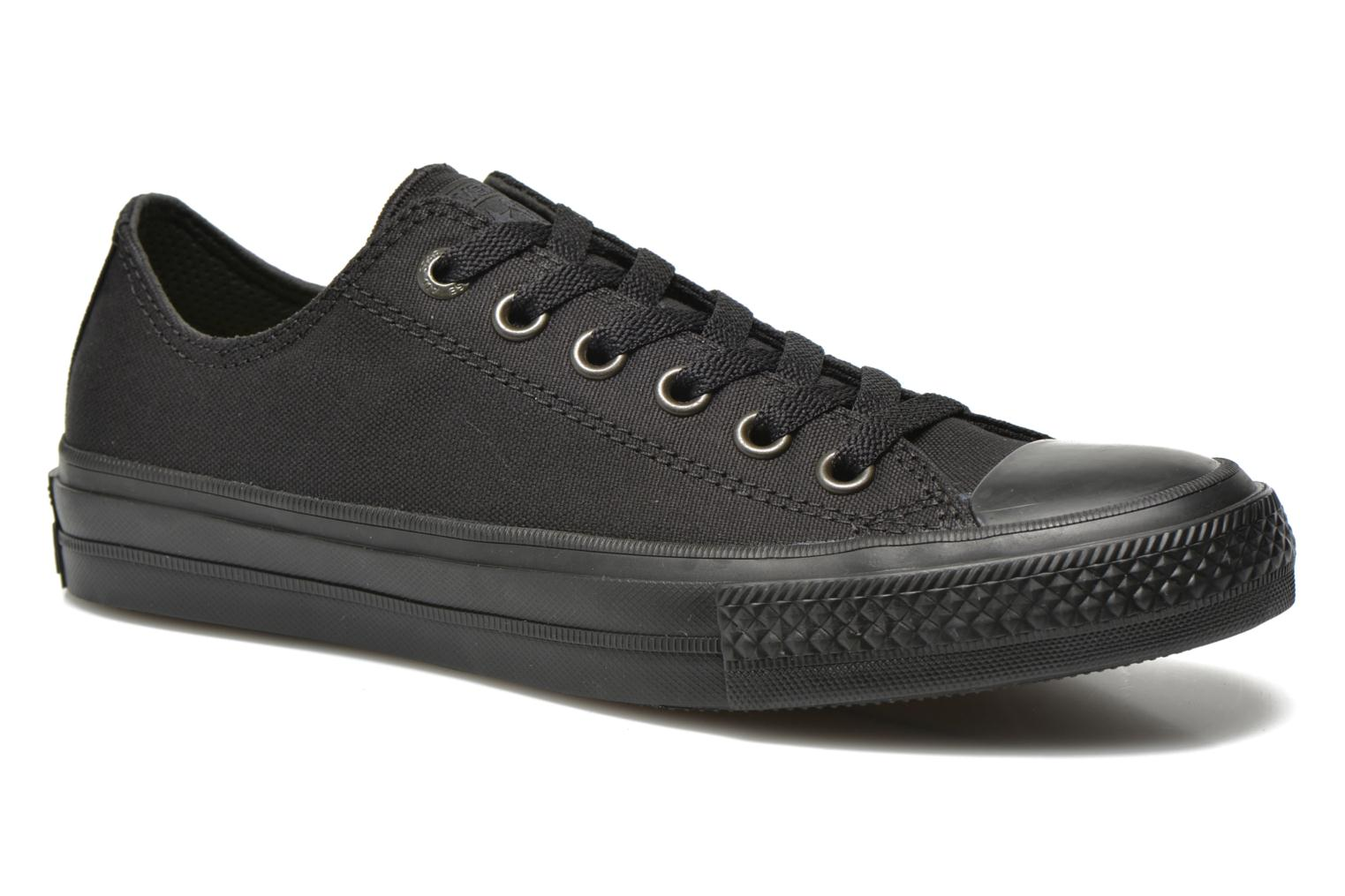 Baskets Converse Chuck Taylor All Star II Ox W Noir vue détail/paire