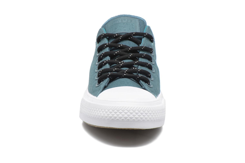 Sneaker Converse Chuck Taylor All Star II Ox W grün schuhe getragen