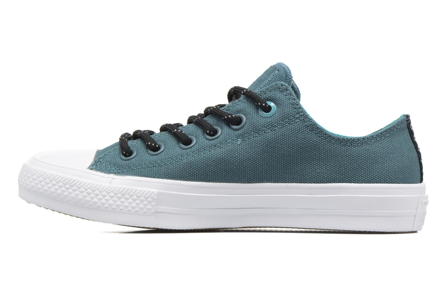 Trainers Converse Chuck Taylor All Star II Ox W Green front view