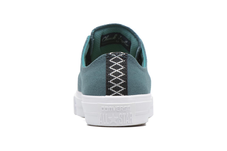 Sneaker Converse Chuck Taylor All Star II Ox W grün ansicht von rechts
