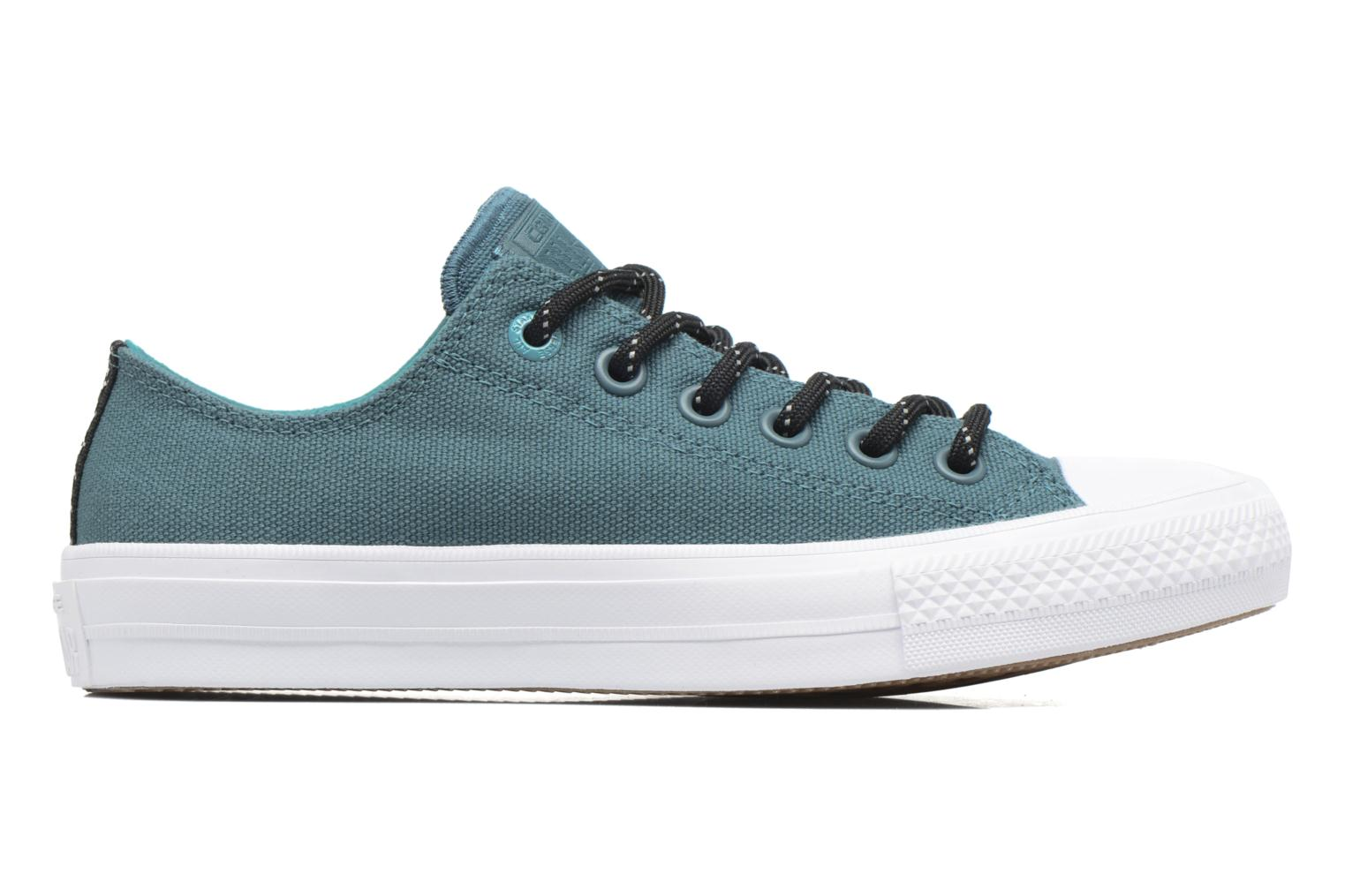 Trainers Converse Chuck Taylor All Star II Ox W Green back view