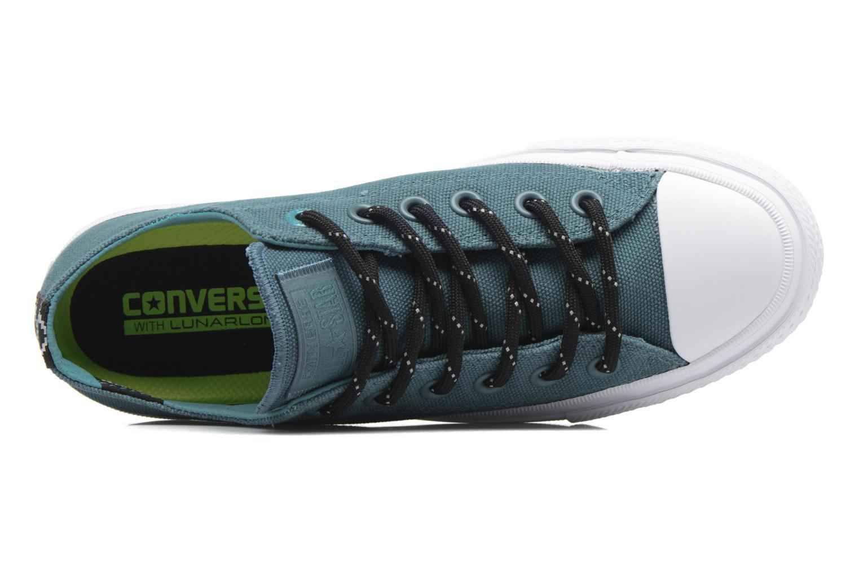 Sneaker Converse Chuck Taylor All Star II Ox W grün ansicht von links