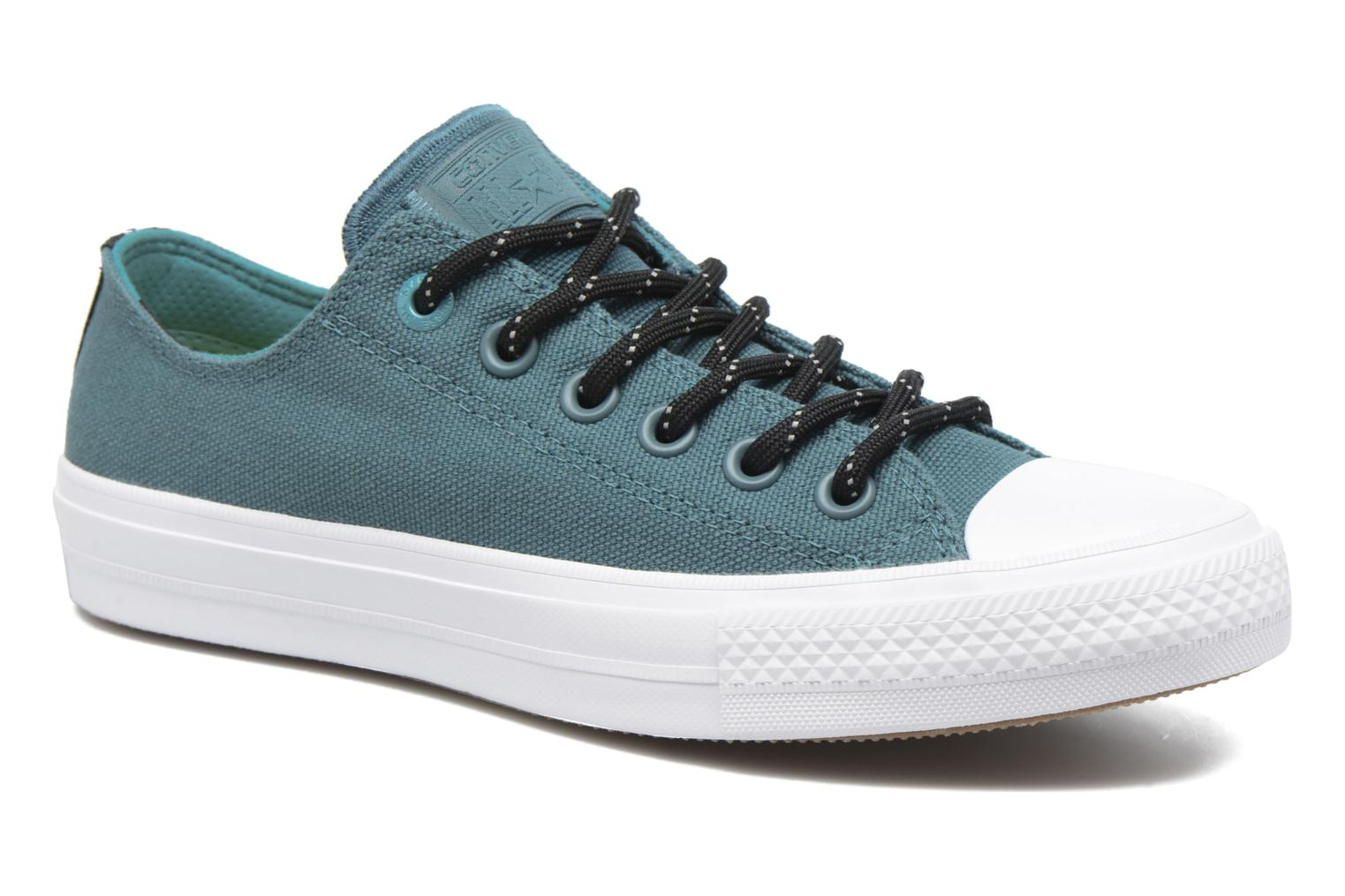 Baskets Converse Chuck Taylor All Star II Ox W Vert vue détail/paire