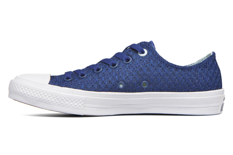 Sneakers Converse Chuck Taylor All Star II Ox W Blauw voorkant