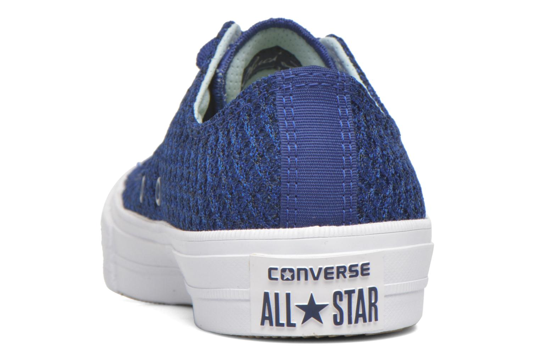 Sneaker Converse Chuck Taylor All Star II Ox W blau ansicht von rechts