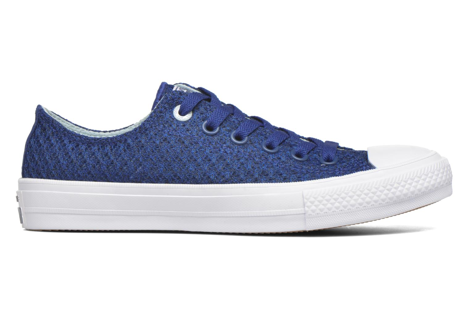Trainers Converse Chuck Taylor All Star II Ox W Blue back view