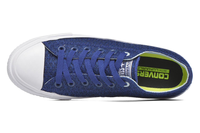 Sneaker Converse Chuck Taylor All Star II Ox W blau ansicht von links