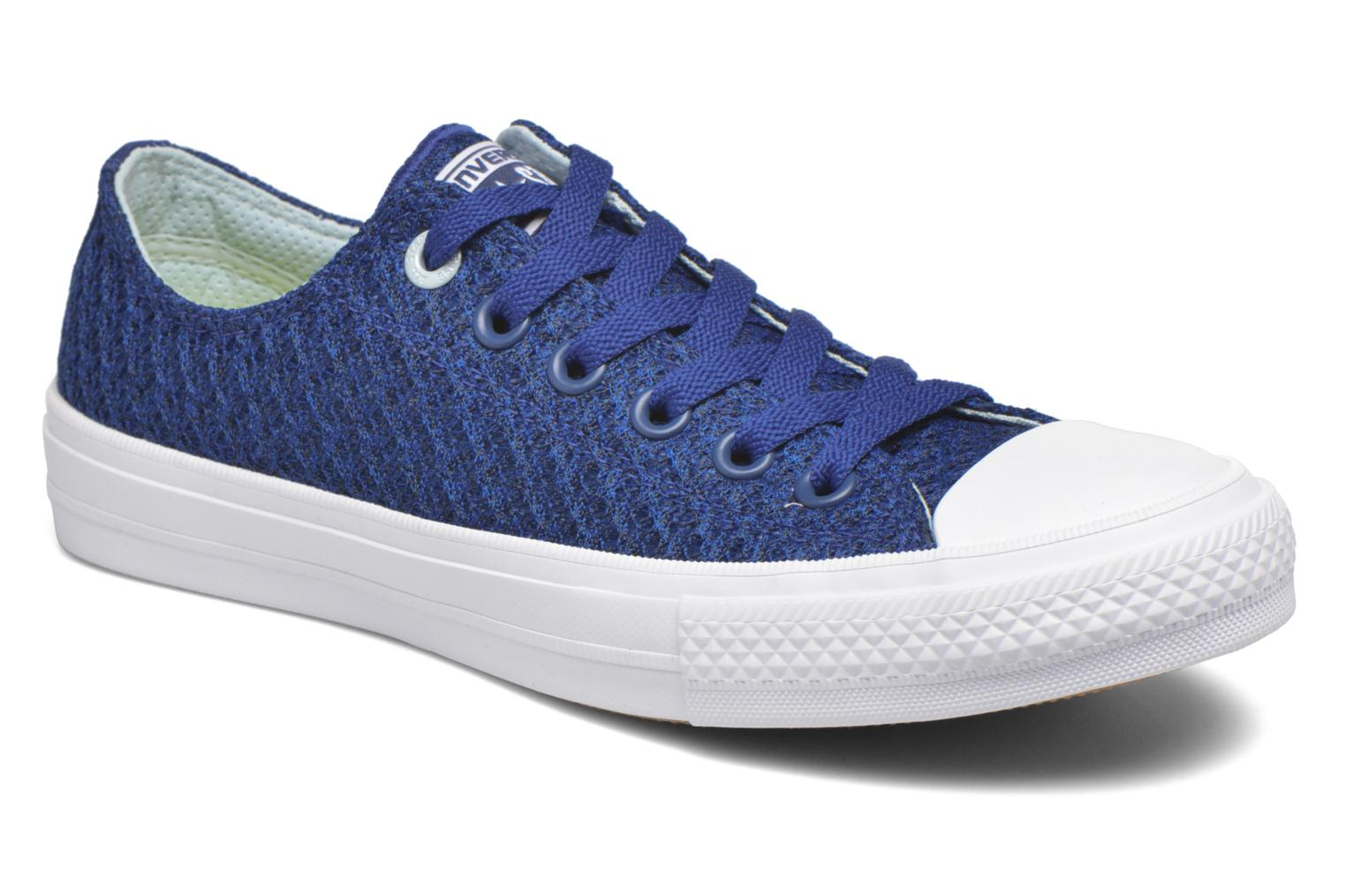 Trainers Converse Chuck Taylor All Star II Ox W Blue detailed view/ Pair view